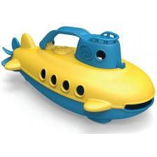 Детска играчка Green Toys - Подводница - Yellow Cabin -1