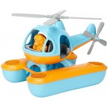 Детска играчка Green Toys - Морски хеликоптер, син -1