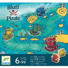 Детска игра Djeco - Блъфиращият пират -1