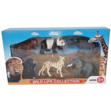 Комплект фигури Ocie - Диви животни, 6 броя, вид 3 -1