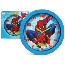Детски стенен часовник Nickelodeon - Спайдърмен,  Ø 28cm -1