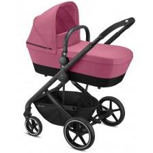 Детска количка Cybex  2 в 1 Balios BLK - Розова -1