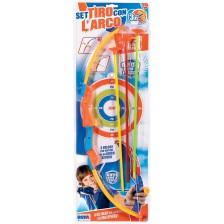 Детска играчка RS Toys - Спортен лък с мишена, асортимент -1