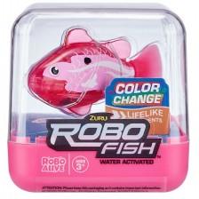Детска играчка Zuru - Робофиш, розова -1