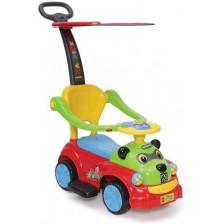 Детска кола за бутане Moni - Panda JY-Z02A, червена -1