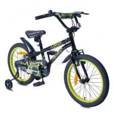 """Детски велосипед Byox Pixy 18"""" - Черен -1"""