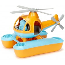 Детска играчка Green Toys - Морски хеликоптер, оранжев -1
