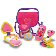 Детска играчка Melissa & Doug - Чантичка с аксесоари -1