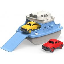 Детска играчка Green Toys - Ферибот, с 2 колички -1