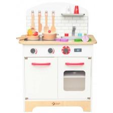 Детска дървена кухня Classic World - С аксесоари -1