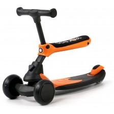 Детски скутер 2 в 1 Chipolino - X-Press, оранжев -1