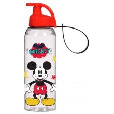 Детска бутилка за вода Disney - Мики Маус, с дръжка, 750 ml -1