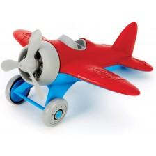 Детска играчка Green Toys - Самолетче, червено -1
