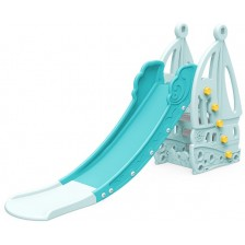 Детска пързалка Moni - Nala, синя, 172 cm -1