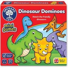 Детска образователна игра Orchard Toys - Домино с динозаври -1