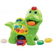 Детска играчка за дърпане Vtech - Динозавър -1
