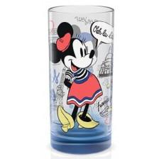 Стъклена чаша Disney Cities - Париж, синя, 270 ml -1
