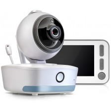 Дигитален видео бебефон Reer - BabyCam, XL, бял -1