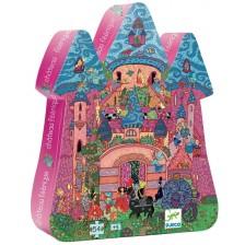 Детски пъзел Djeco от 54 части - Замъка на феите -1