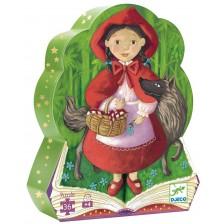 Детски пъзел Djeco от 36 части - Малката червена шапчица -1