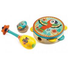 Комплект 3 музикални инструмента Djeco - Animambo -1