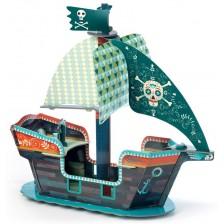 Детски 3D пиратски кораб Djeco -1