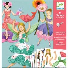 Детска игра Djeco - Aтелие за движещи се кукли феи -1