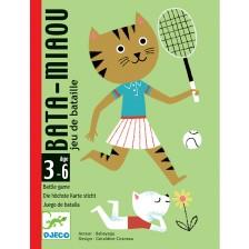 Детска игра с карти Djeco - Bata Miaou -1