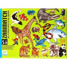 Детска игра с карти Djeco - Zanimatch -1