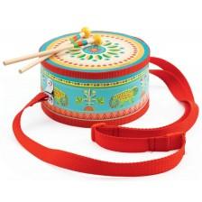 Детски музикален инструмент Djeco - Барабан Animambo -1