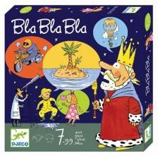 Детска игра с карти Djeco - Bla Bla Bla -1