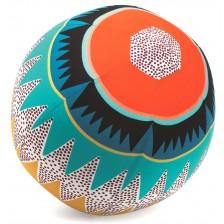 Топка с балон Djeco - Графични мотиви, 30 cm -1