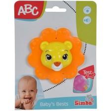 Дрънкалка Simba ABC - Животинче, Лъвче -1