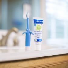 Четка и паста за зъби Dr. Brown's - Синя -1