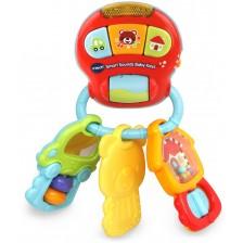 Бебешка дрънкалка Vtech - Със звук и светлина -1