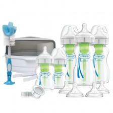 Комплект за новородено Dr. Brown's - Wide-Neck Options+ Deluxe -1