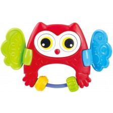 Дрънкалка PlayGo - Peekaboo, бухалче -1