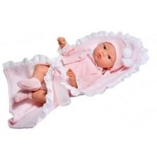 Дрехи за кукла Asi - Жилетка, шапка и одеяло за кукла Коке, 36 cm -1