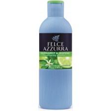 Душ гел за баня и вана Felce Azzurra - Бергамот и Жасмин, 650 ml -1