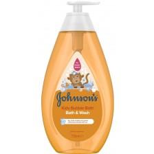 Душ гел за деца Johnson's - Bubble bath, 750 ml -1