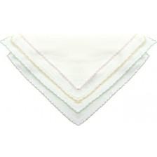 Двуслойни памучни кърпи Sevi Baby  - Розови, 10 броя -1