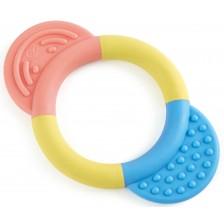 Бебешка играчка Hape - Чесалка за зъби ринг -1
