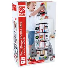 Детска игра Hape - Космическа ракета -1