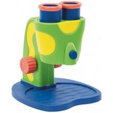 Детски микроскоп Learning Resources - Геосафари, син -1