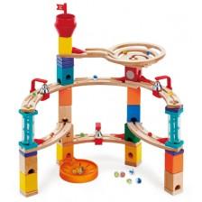Дървена игра с топчета Hape - Бягство от замъка -1