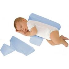 Еко възглавничка за спане настрани Sevi Baby - Синя -1