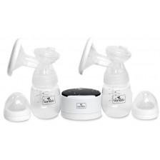 Eлектрическа помпа за кърма Lorelli Daily Comfort - Двойна, бяла -1