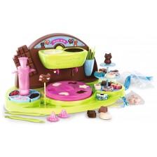 Детски комплект за готвене Smoby - Шоколадова фабрика -1