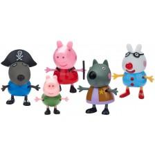 Фигури Peppa Pig - Пепа и приятели, 5 броя -1