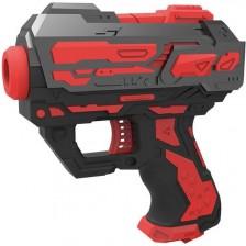 Детска играчка Ocie Red Guns - Мини Пистолет, с 6 меки стрели -1